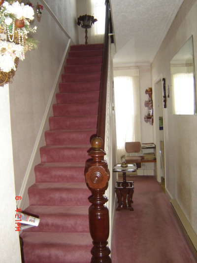 Main hall stairs