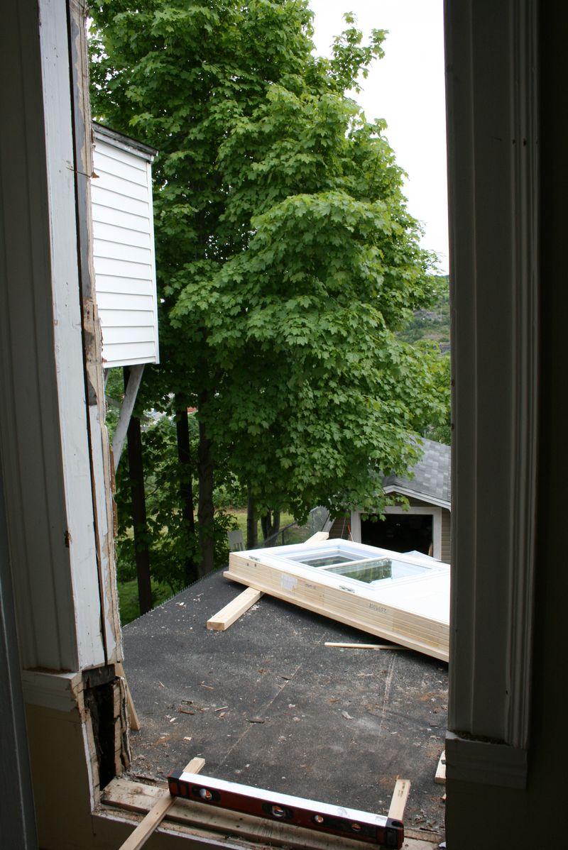 Window to door
