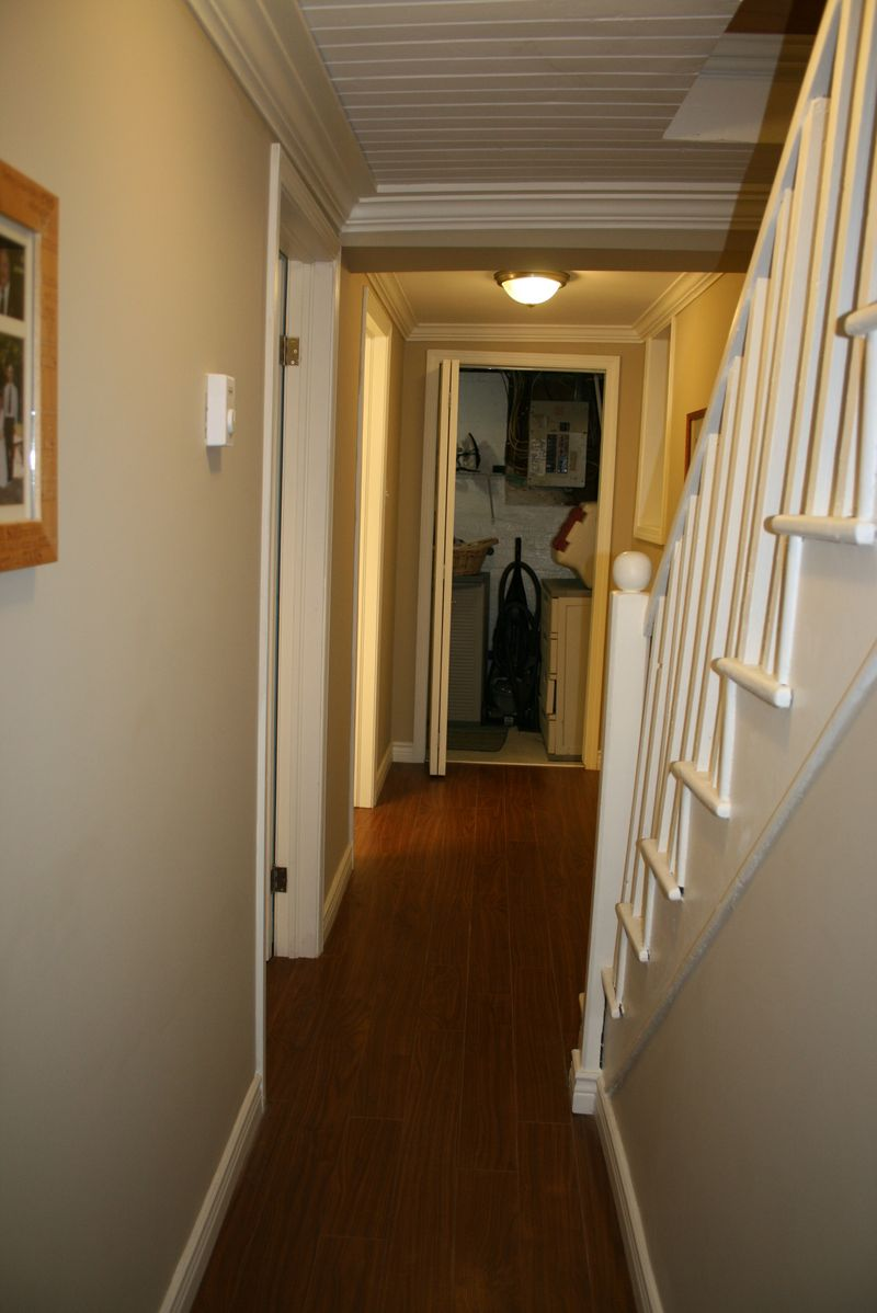 Hall to laundry room
